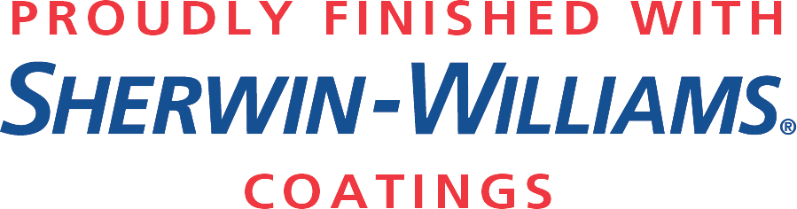 Finished with Sherwin-Williams Coatings